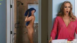 xvideosporn Busty Milf Brandi Love want young son big cock